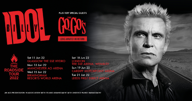 Billy Idol & The Go-Go's   Events   Glasgow   The SSE Hydro