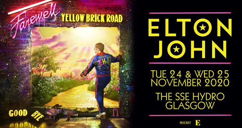 Image result for elton john glasgow hydro 2020