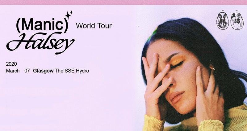 Halsey Tour 2020.Halsey Manic World Tour Events Glasgow The Sse Hydro
