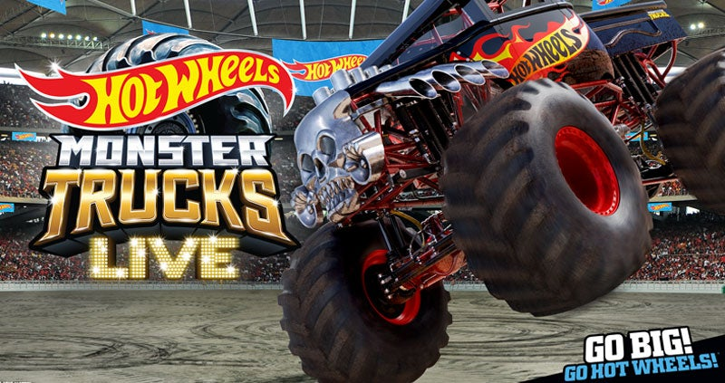 hot wheels monster trucks 2020