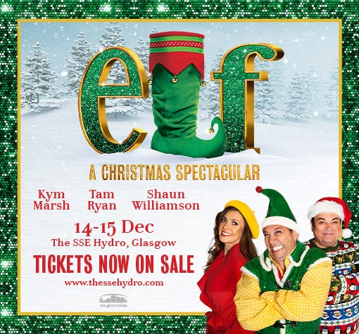 Christmas In August 1998.Elf A Christmas Spectacular Events Glasgow The Sse