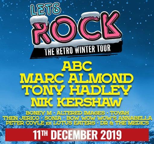 3e8c0c28a Let's Rock The Retro Winter Tour | Events | Glasgow | The SSE Hydro