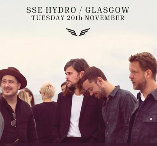 Image result for mumford and sons glasgow hydro 2018