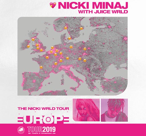 Image result for nicki minaj glasgow hydro 2019