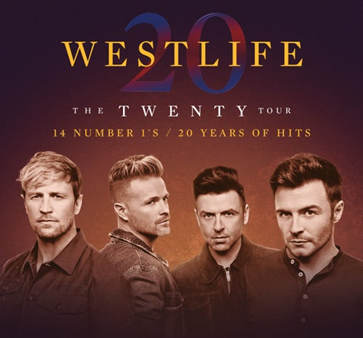 Image result for westlife glasgow hydro 2019