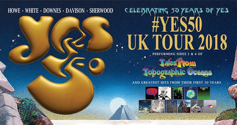 Image result for Yes 50th year