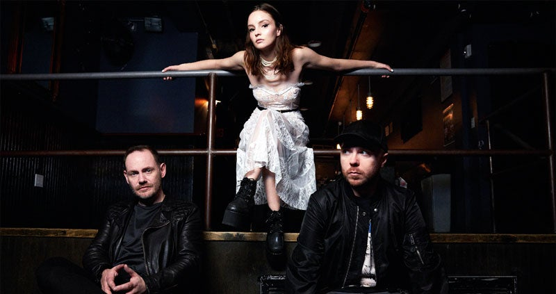 Image result for chvrches sse hydro glasgow 2018