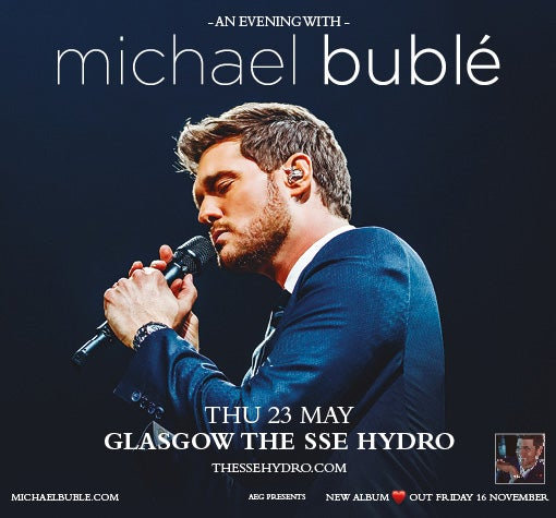 Image result for michael buble hydro glasgow 2019